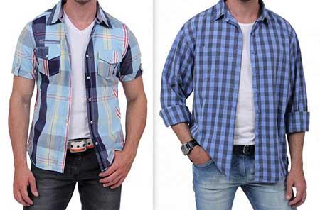 modelos de camisas masculinas