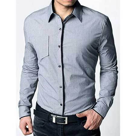 fotos de camisas masculinas da moda