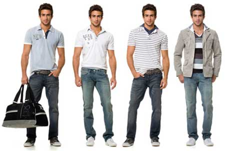 fotos de looks masculinos