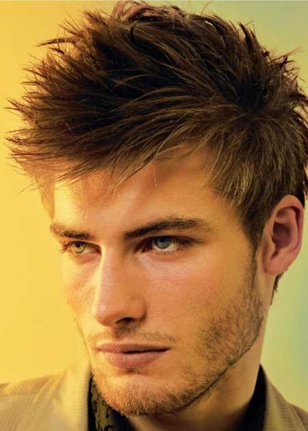 dica de penteado masculino