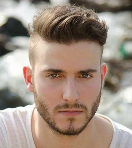 Penteados fáceis para homem com barba