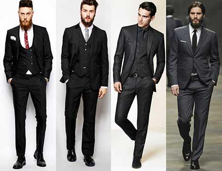 imagens de terno preto