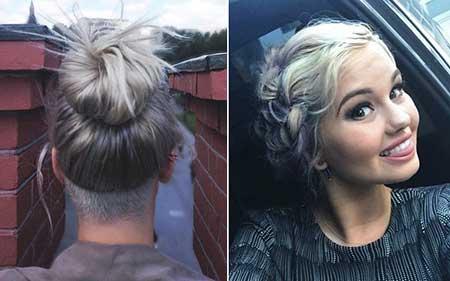 fotos de cabelos cinzas
