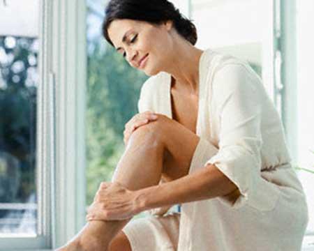 como deixar a pele hidratada