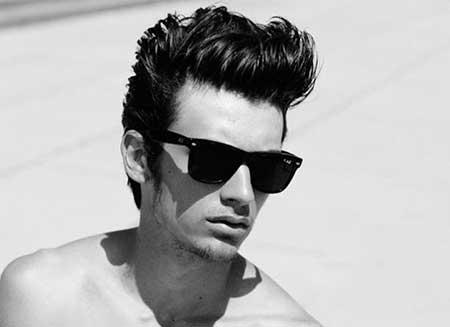 modelo de penteado masculino