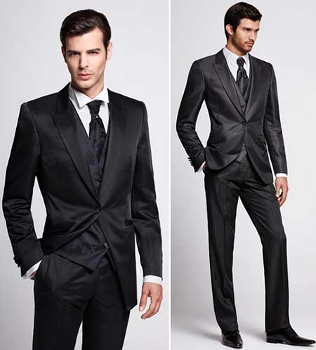 como usar terno preto