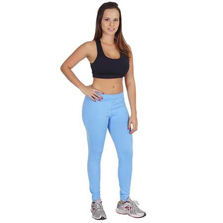 calça azul linda