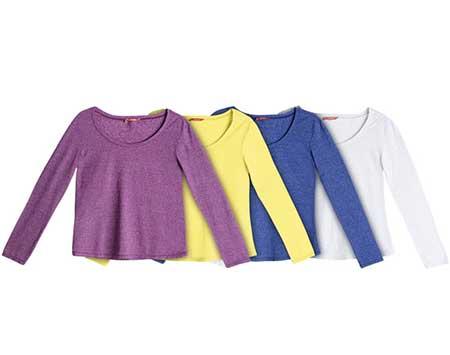 dicas de camisas coloridas