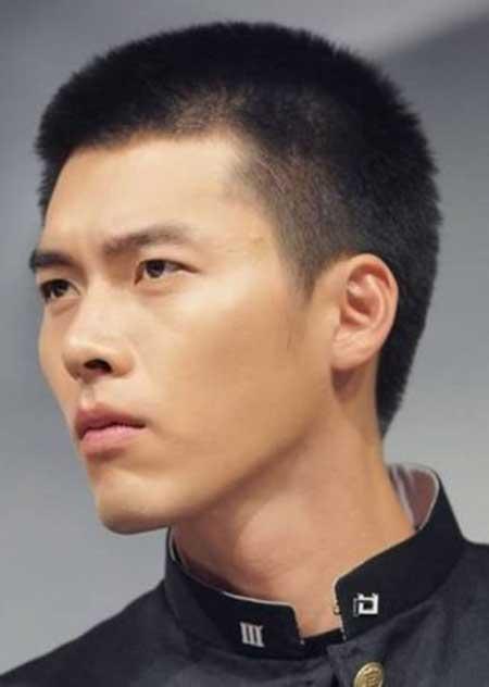 corte de cabelo militar da moda masculina