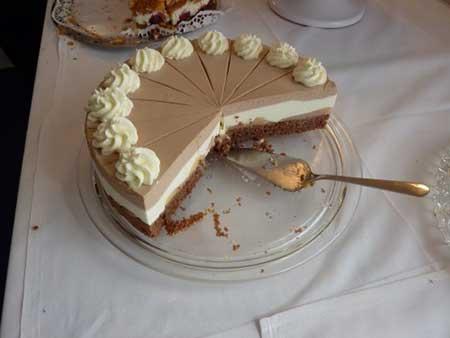 bolo de dois sabores