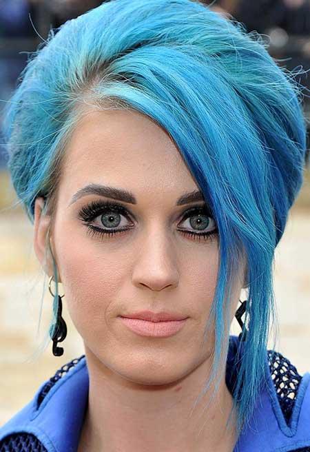 com ter o cabelo azul
