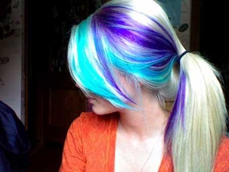cabelo com mechas