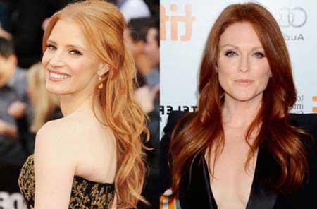 fotos de cabelos ruivos naturais