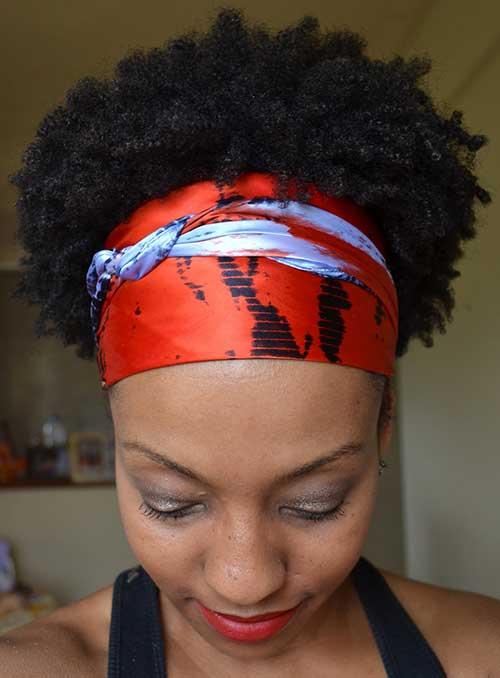 modelo de penteado afro