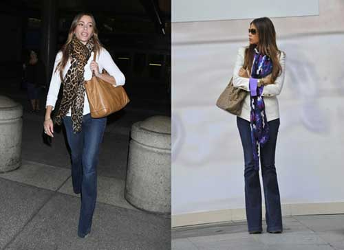 calças da moda feminina