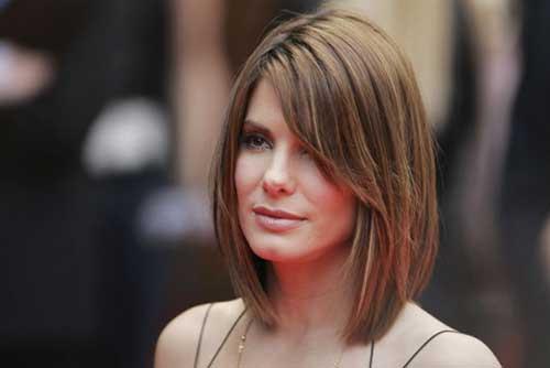 cortes de cabelo curto para rosto redondo em atrizes