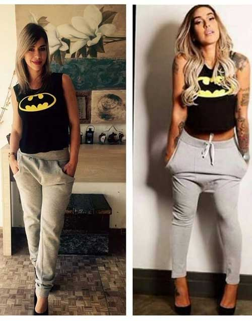 com blusinha do batman