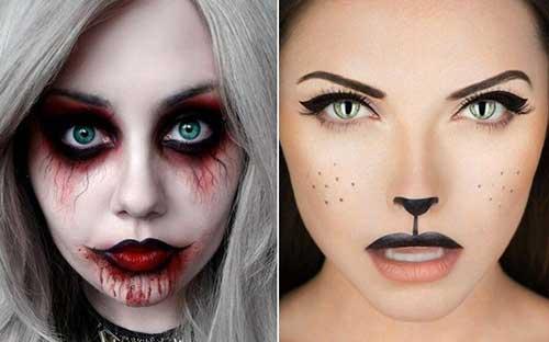 maquiagem de vampira