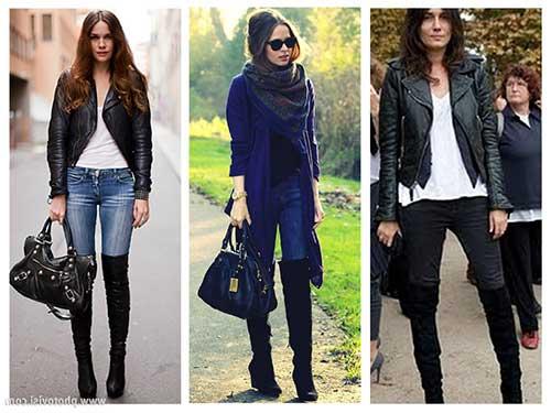 Como Usar Legging Jeans