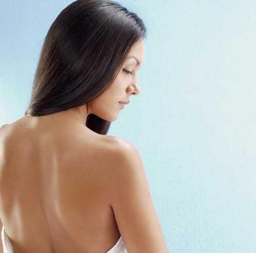 acne nas costas